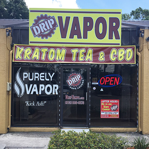DRIP Waters Vapor, Kratom Tea & CBD